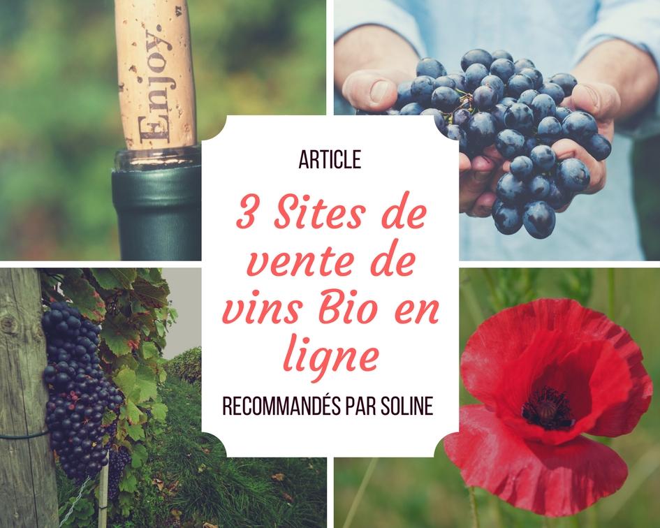3 sites de vente de vins bio en ligne